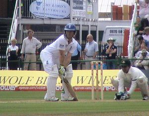 Eoin Morgan - Morgan batting against Bangladesh in 2010.
