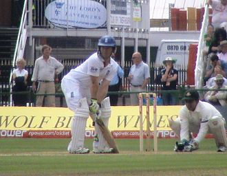 Eoin Morgan - Morgan batting against Bangladesh in 2010