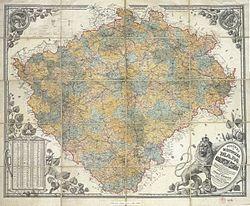 Erbenova mapa Čech (1883).jpg