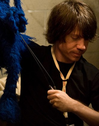 Eric Jacobson - Jacobson puppeteering Grover in 2008