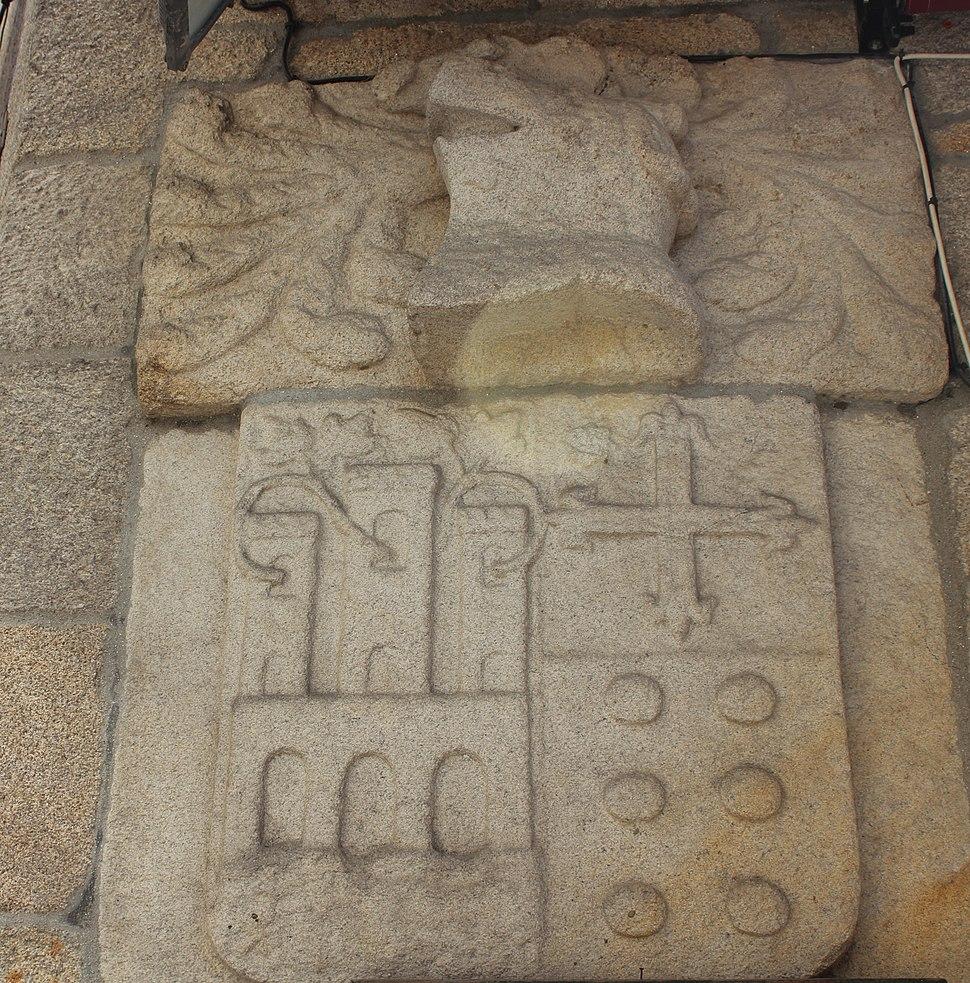 Escudo Casa da Alfóndiga, Redondela