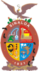 Coat of arms of State of Sinaloa
