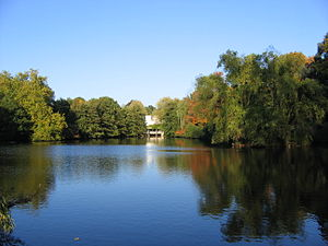 University of Essex - One of the lakes