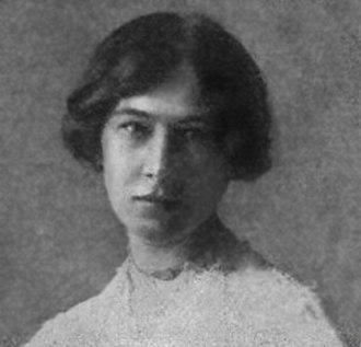 Ester Claesson - Ester Claesson in 1907