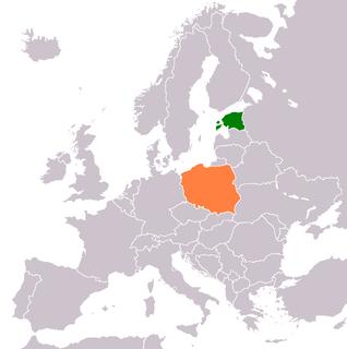 Estonia–Poland relations
