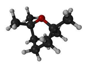 Eucalyptol - Image: Eucalyptol 3D 3