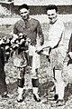 Eugène Ribère (G., Quillan) et Robert Samatan (D., Agen), en avril 1931 à Bordeaux.jpg