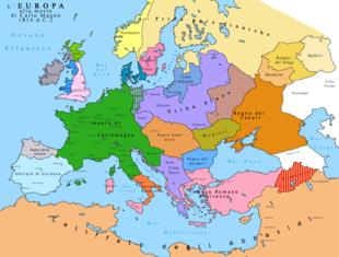 Cartina Europa In Inglese.Europa Wikipedia