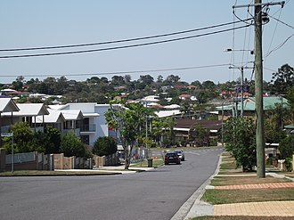 Everton Park, Queensland - Image: Everton Park White Street looking E