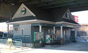 Exhibition GO Station - Image: Exhibition GO Sta 1