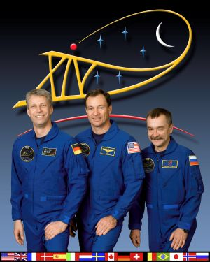 Expedition 14 - Expedition 14 during the first part of the mission