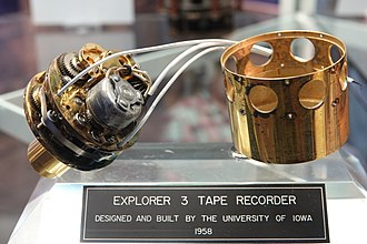 Explorer 3 - Explorer 3 Flight Recorder