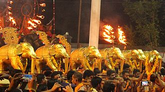 Ettumanoor - Ezhara Ponnana festival