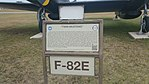 F-82E at Lackland Air Force Base sign.jpg