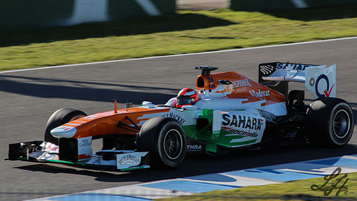 F1 2013 Jerez test - Force India