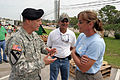FEMA - 38567 - USACE General at a FEMA POD in Texas.jpg