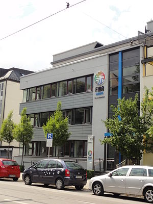 FIBA Europe - Headquarters of FIBA Europe, in Munich, Germany.