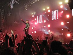 Skupina Fall Out Boy v roku 2013