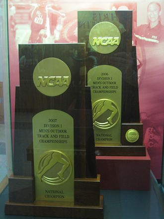 Florida State Seminoles track and field - FSU's NCAA Championship trophies
