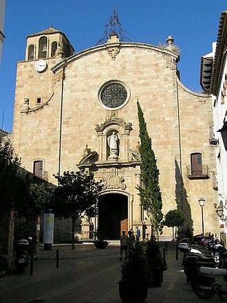 Tossa de Mar - Parish church