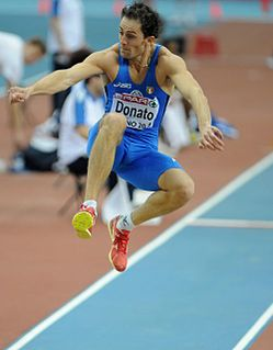 Fabrizio Donato Italian triple jumper and long jumper