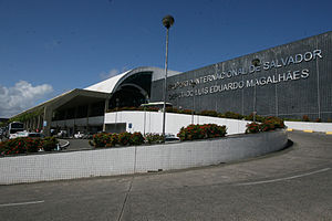 Deputado Luís Eduardo Magalhães International Airport - Image: Fachada Aeroporto de Salvador 2