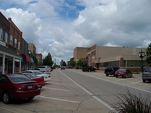 Fairmont, Minnesota - Street in downtown Fairmont
