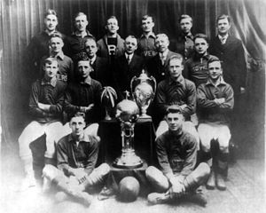 Soccer in the United States - The Fall River Rovers were among the few clubs to win both the National Challenge Cup and the American Cup.