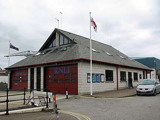 Falmouth Lifeboat Station - Image: Falmouth Coastguard and Lifeboat Station