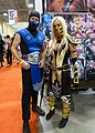 Fan Expo 2016 - Sub Zero & Scorpion (32317466103).jpg