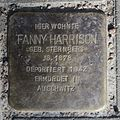 Fanny Harrison - Sierichstraße 132 (Hamburg-Winterhude).Stolperstein.nnw.jpg