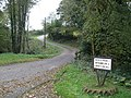 Farm access road, on the A477 - geograph.org.uk - 1002737.jpg