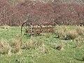 Farm machinery at Tollie - geograph.org.uk - 364510.jpg