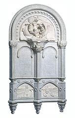 Monument consacré à la mémoire du Baron Gros par Mlle Sarazin de Belmont