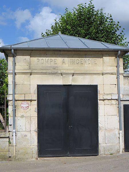 Ancien garage de la pompe à incendie