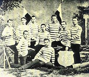 FC St. Gallen - St. Gallen squad in 1881
