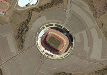Description de l'image  FedEx field satellite view.png.