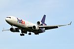 Federal Express (FedEx), McDonnell Douglas MD-11, N596FE - PDX (19032320676).jpg
