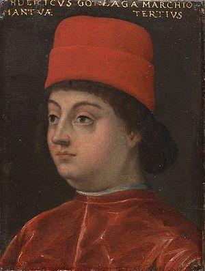 Federico I Gonzaga, Marquess of Mantua - Portrait of Federico I Gonzaga at the Uffizi in Florence