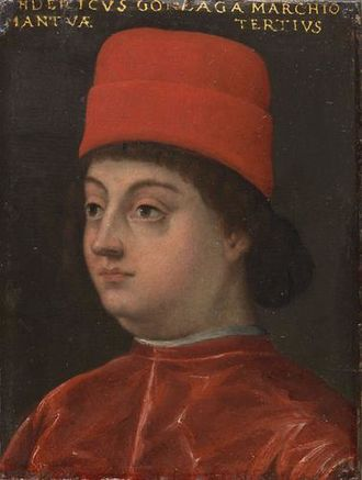 Federico I Gonzaga, Marquess of Mantua - Portrait of Federico I Gonzaga at the Uffizi in Florence