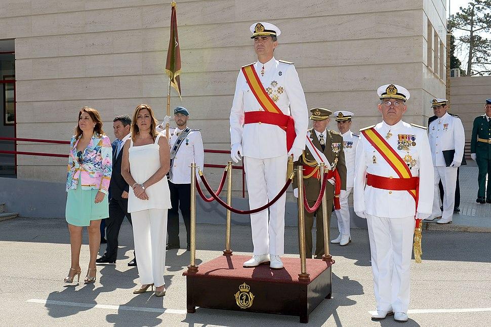 Felipe VI - 14.07.11-Escuela Marina-1-San Fernando