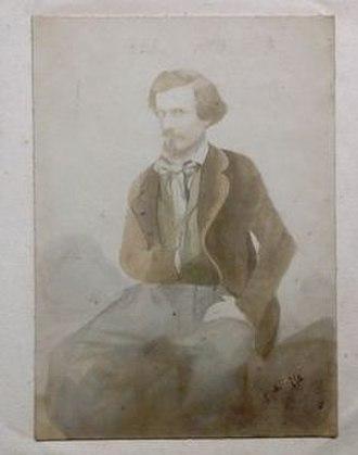 Félix Bonfils - Félix Bonfils, self-portrait