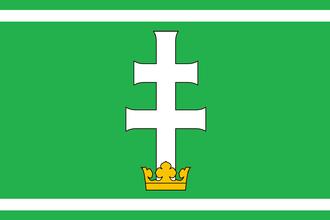 World Football Elo Ratings - Image: Felvidek (Upper Hungary) football flag