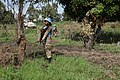 Female combat troops of South African Contingent in MONUSCO on robust foot and moblile patrols 47.jpg