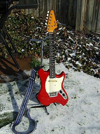 Fender Swinger - Fender Swinger a.k.a. Fender Musiclander, Fender Arrow.