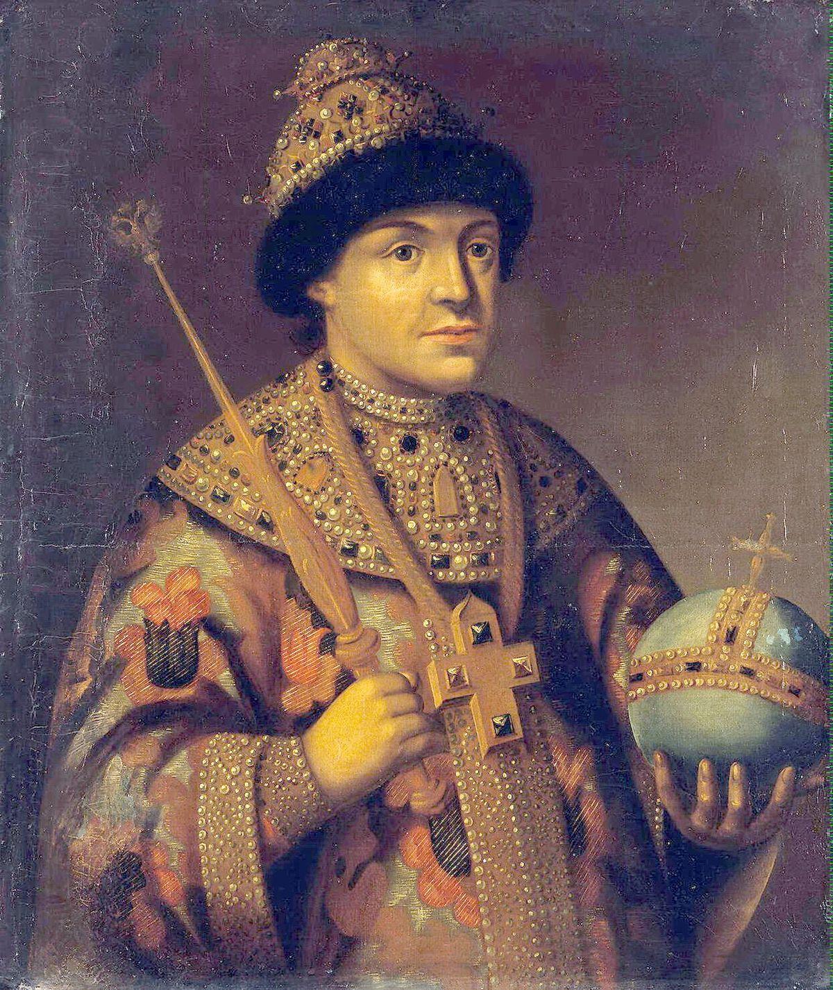 Çar Aleksei Mikhailovich Romanov