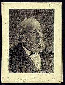 Portrait of Ferdinand Hiller, composer (1811–1885). (Source: Wikimedia)