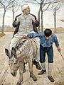 Ferdinand hodler, il mugnaio, suo figlio e l'asino, 1888 ca. 02.JPG