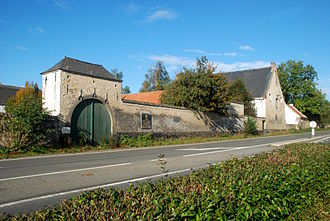 King's German Legion - Farmhouse at La Haye Sainte, where the King's German Legion made its heroic stand.