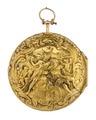 Fickur med boett av guld med mytologisk figurscen i dekoren, 1762 - Hallwylska museet - 110428.tif